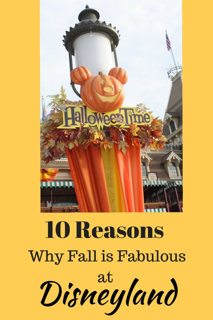 10 Reasons Why Fall is Fabulous at Disneyland