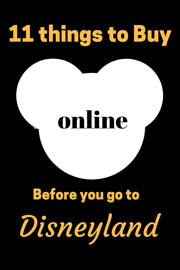 11+ Things to Buy Online Before You Go to Disneyland