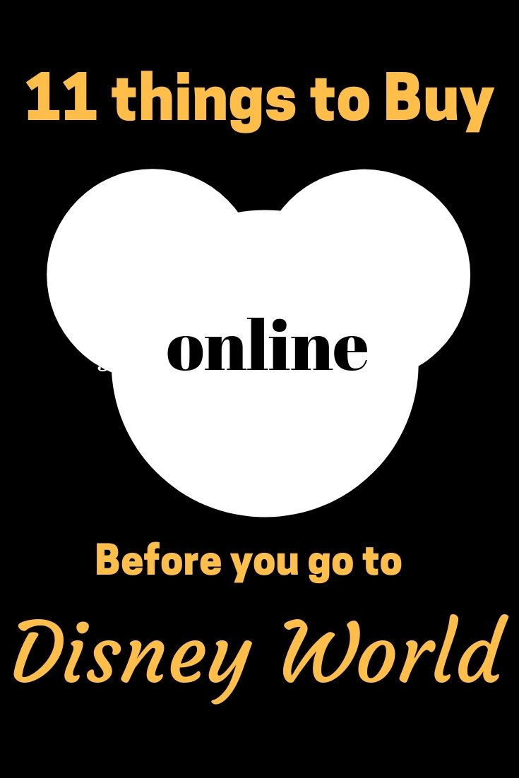 11+ Things to Buy Online Before You Go To Disney World