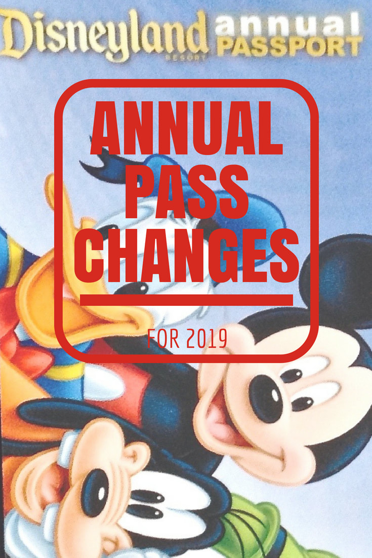 Changes to Disneyland Annual Passes for 2019