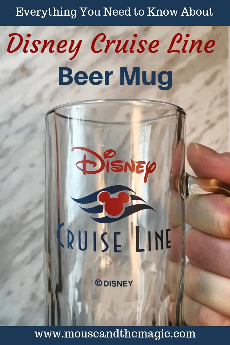 Find out everything you need to know about the Disney Cruise Line Beer Mug and how you can use it to save money on beer on your Disney Cruise.
