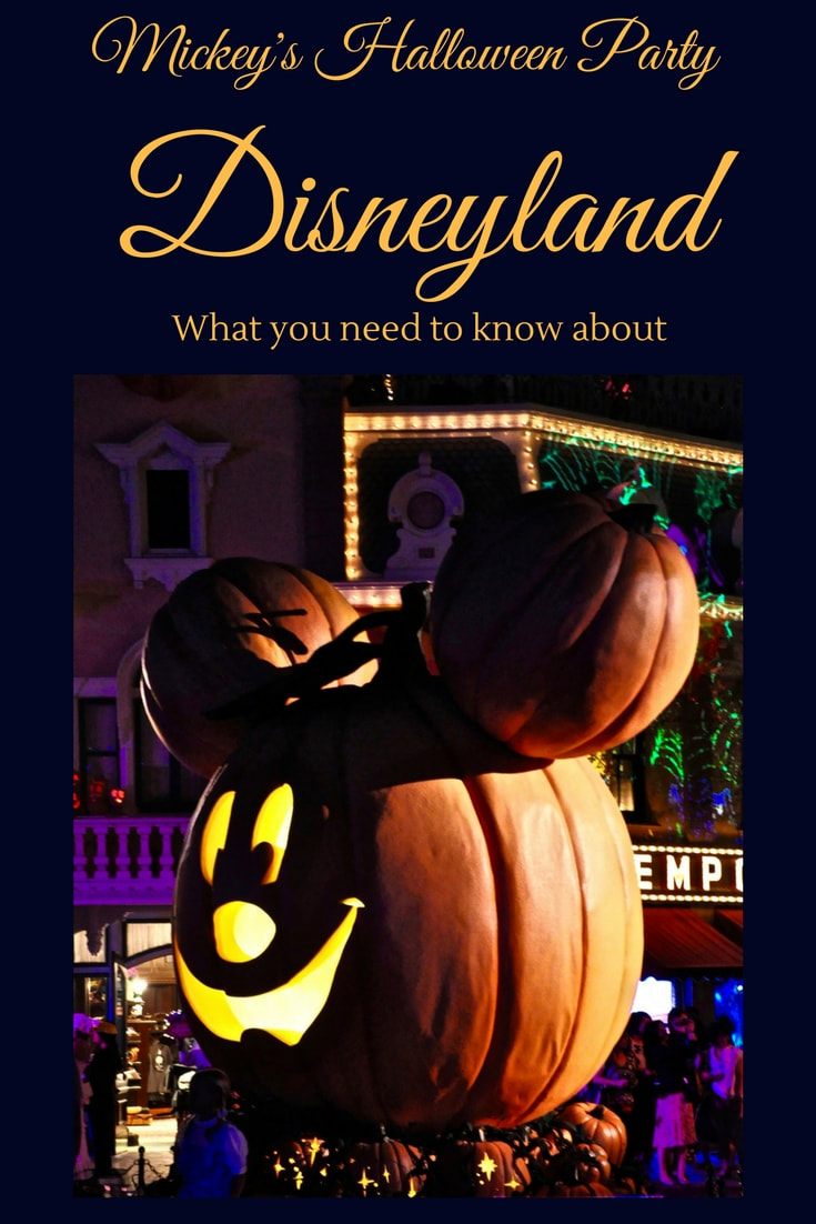 What you need to know about Mickey's Halloween Party at Disneyland