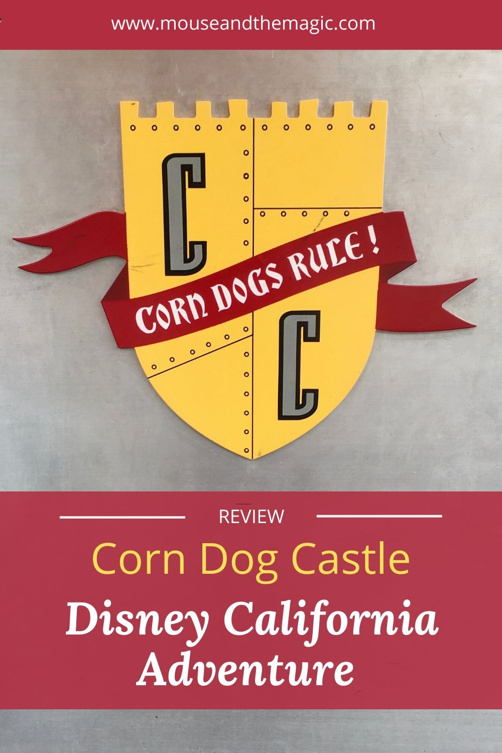 Review - Corn Dog Castle - Disney California Adventure