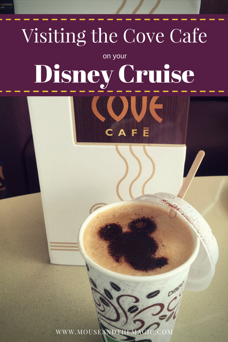 Visiting the Cove Cafe on the Disney Wonder