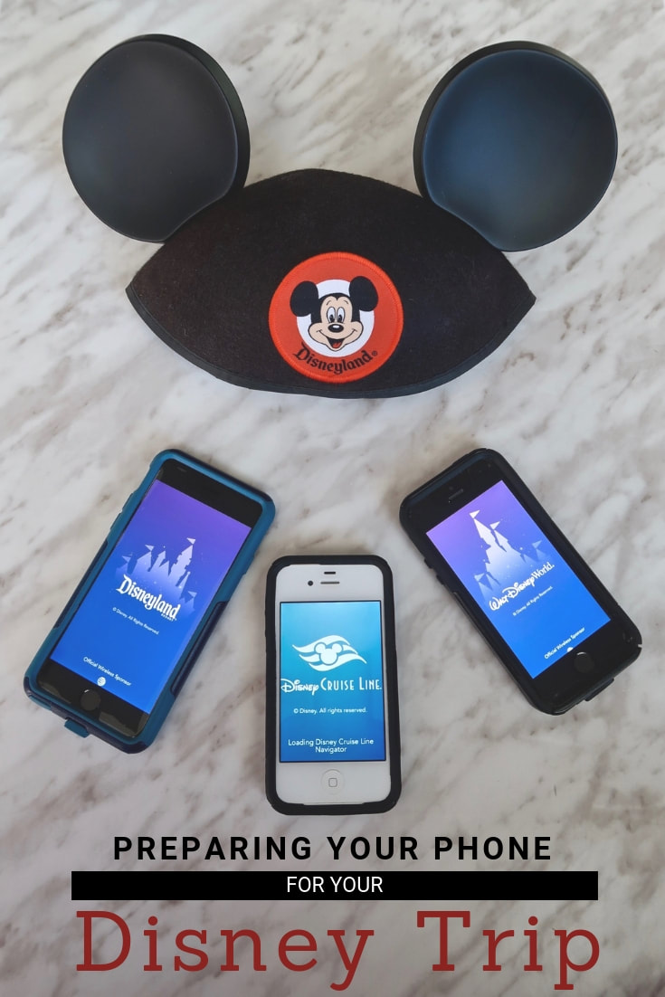 How to Prepare your Phone for Your Disney Trip