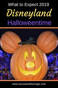 Halloweentime at Disneyland - What to Expect 2019