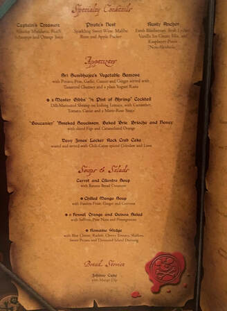 Disney Cruise Pirate Night Dinner - Everything You Need to Know