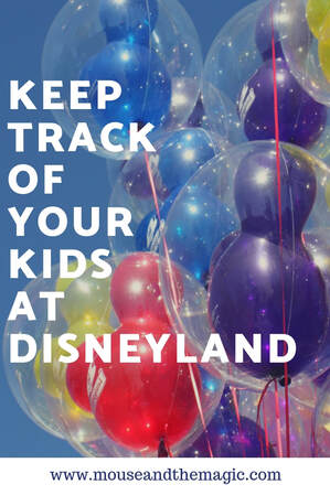 How to Keep Track of Your Kids at Disneyland