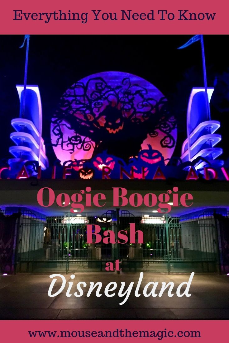 Oogie Boogie Bash - Everything You Need to Know