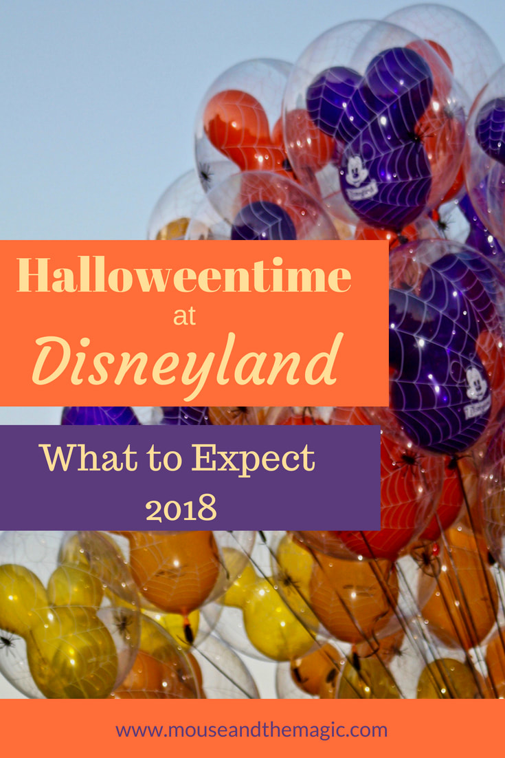 Halloween time is scheduled to run from September 7 to October 31 for 2018.  Find out what to expect this season at Disneyland and Disney California Adventure.
