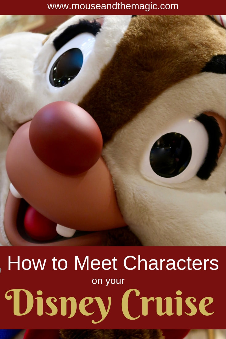 How to Meet Characters on Your Disney Cruise