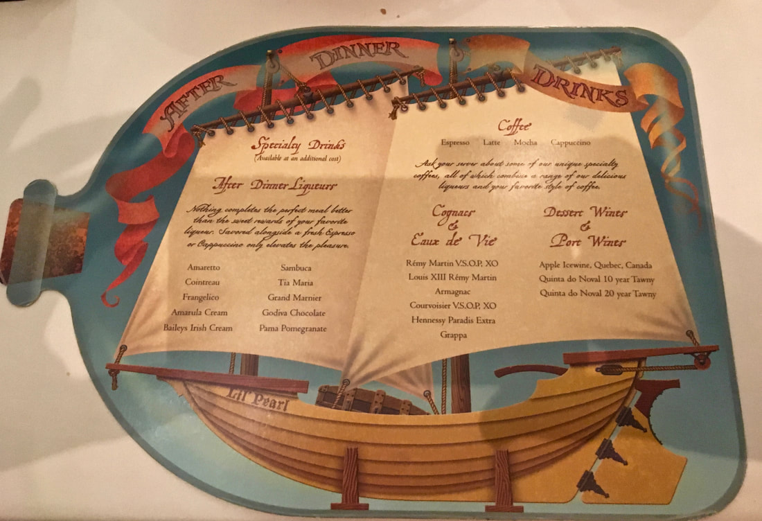 Disney Cruise Pirate Night Dinner