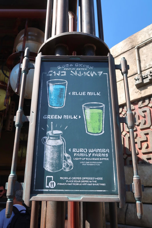 Galaxy's Edge Milk Stand - Disneyland