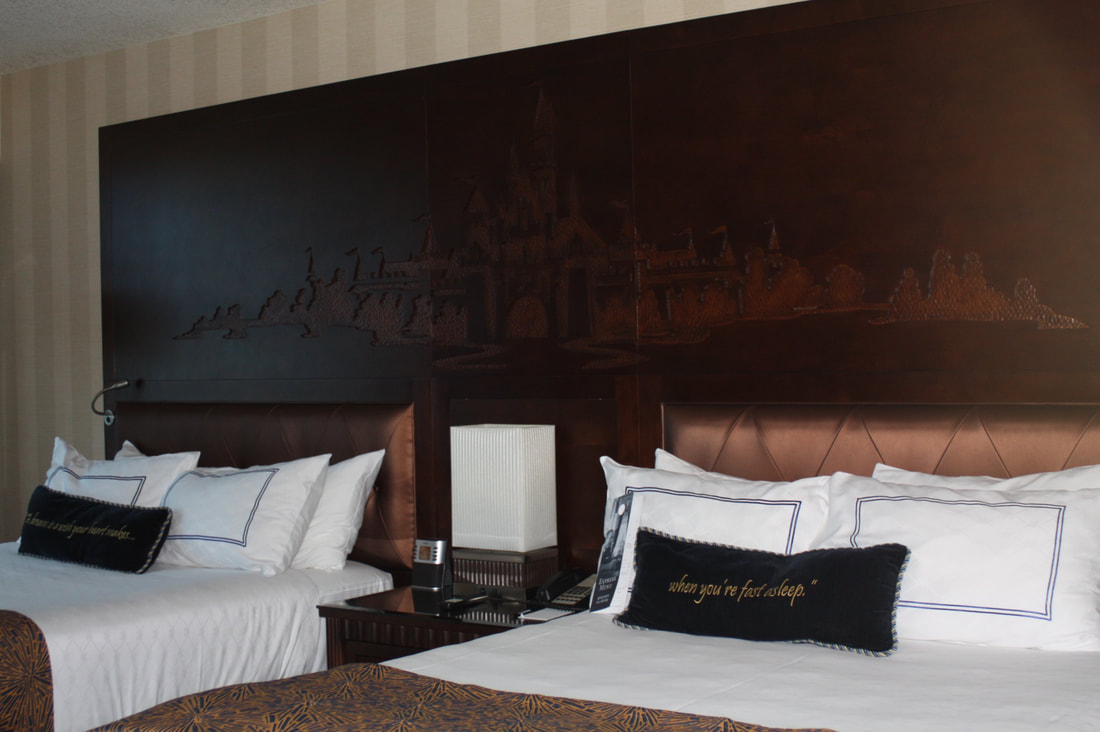 Review-- Disneyland Hotel-- Anaheim, California