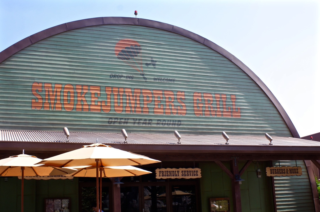 Smokejumpers Grill is a counter service restaurant located in the Grizzly Peak area of Disney California Adventure