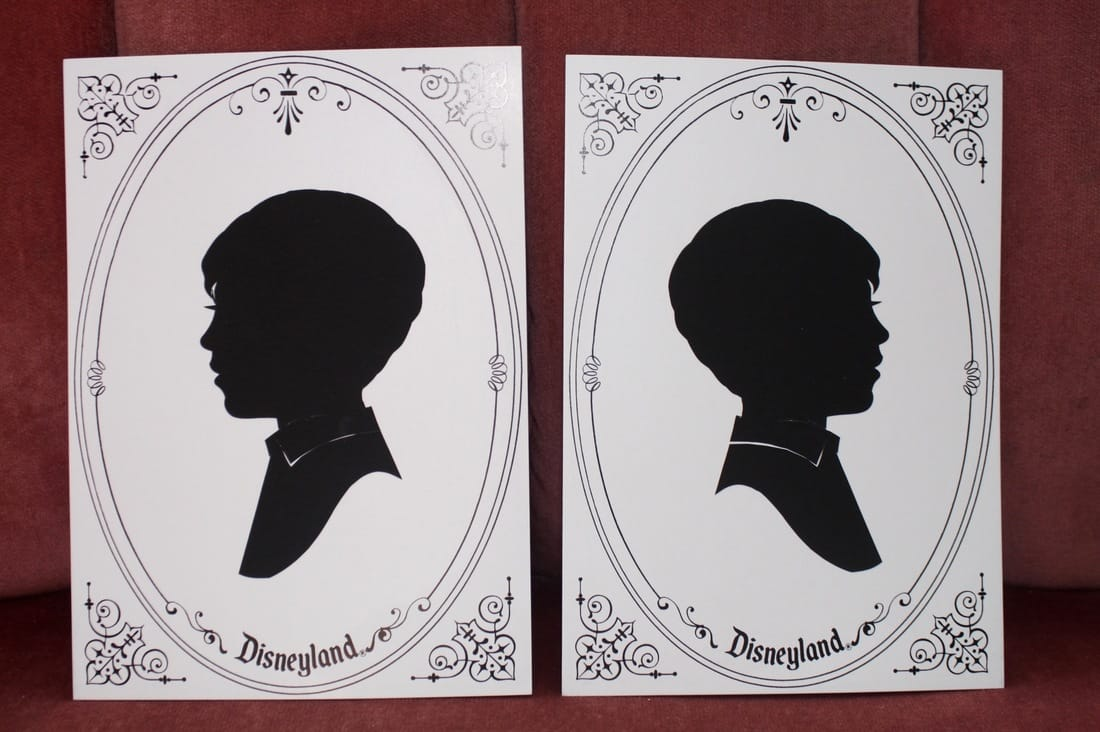 Silhouettes at Disneyland a unique handcrafted souvenir for less than $10
