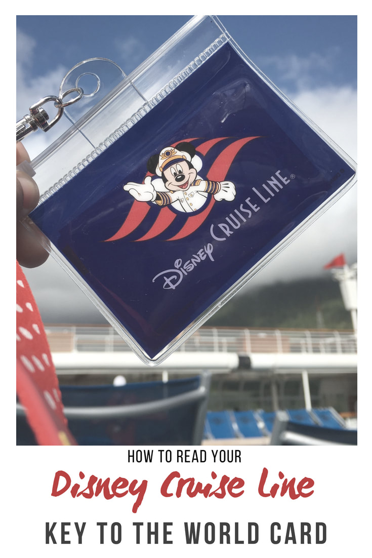 How to Read Your Disney Cruise Line Key to the World Card