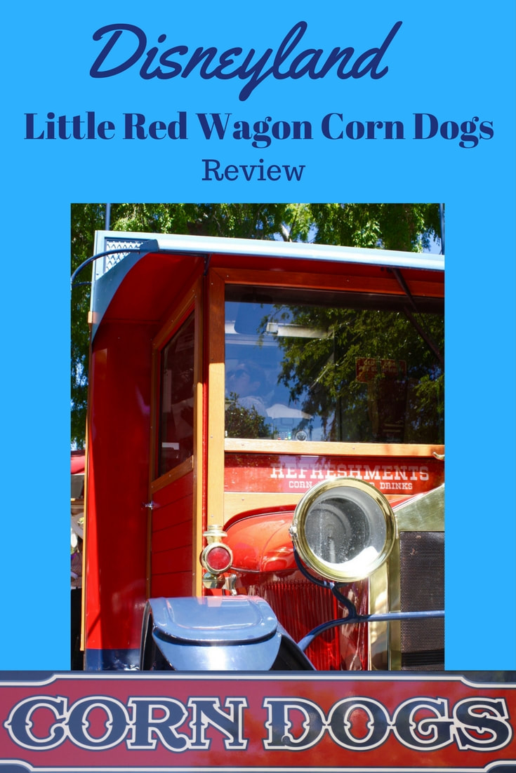 Review -- Little Red Wagon Corn Dogs --Disneyland