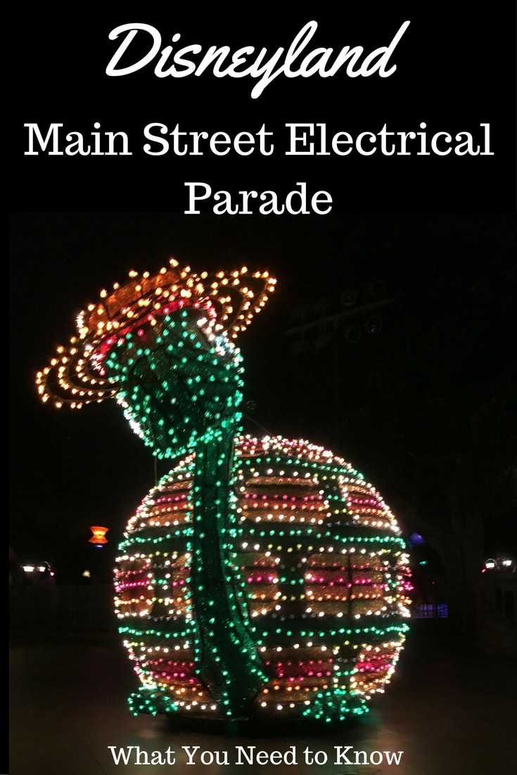 Saint Street Electrical Parade at Disneyland