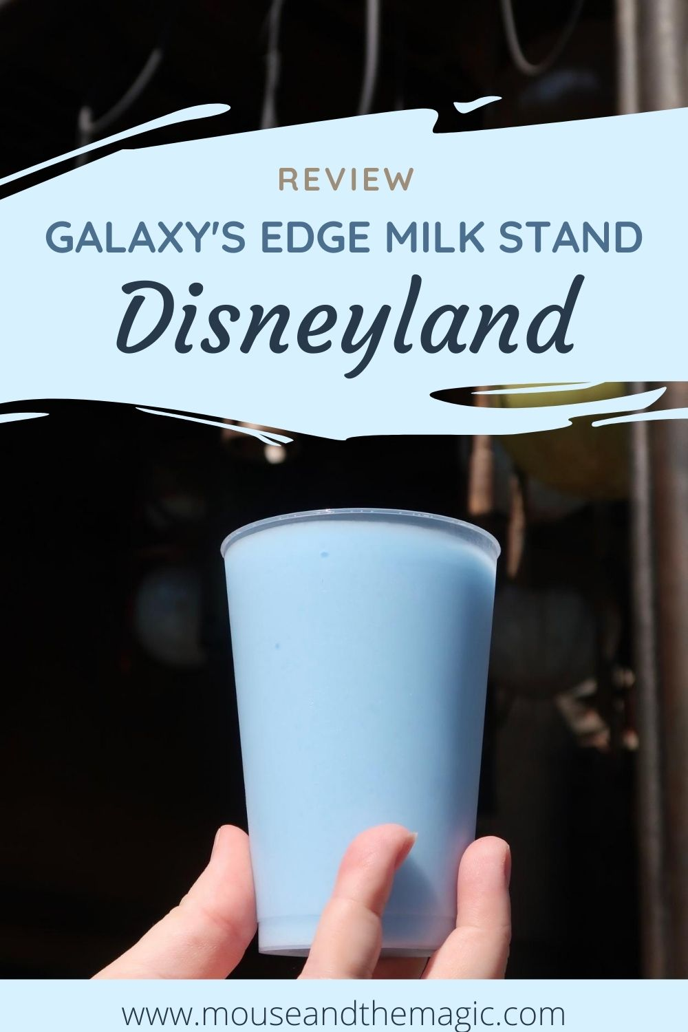 Galaxy's Edge Milk Stand at Disneyland