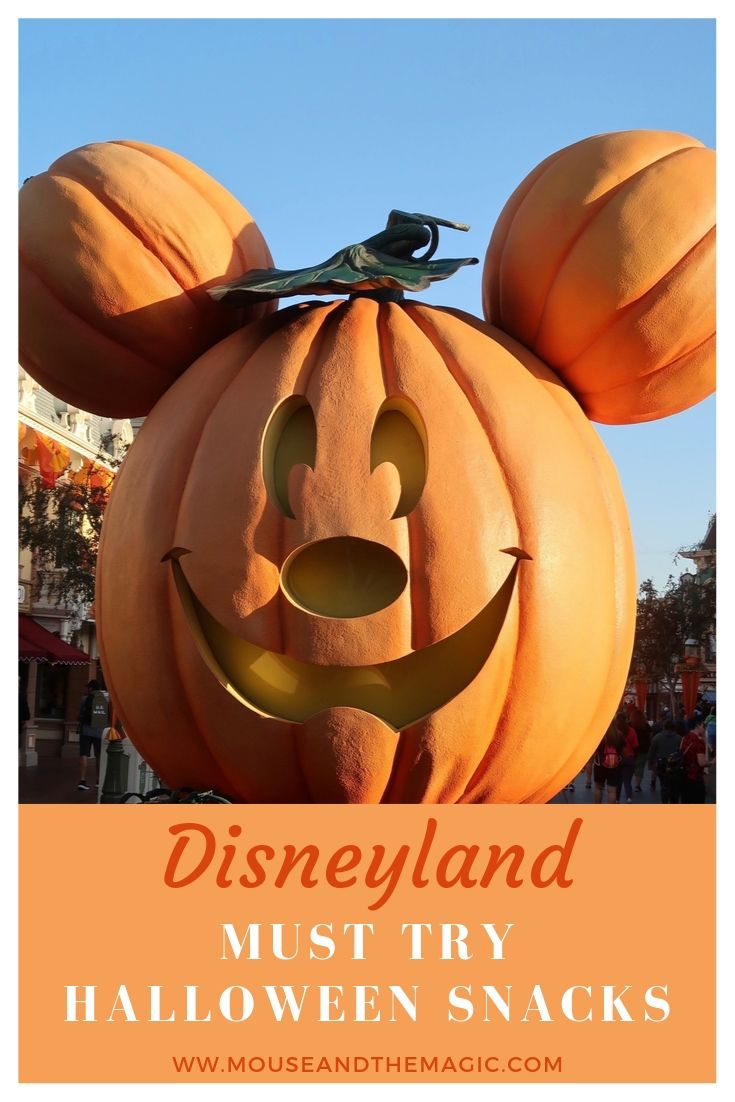 Disneyland - Must Try Halloween Snacks