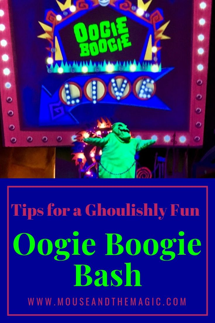 Tips for a Ghoulishly Fun Oogie Boogie Bash at Disneyland