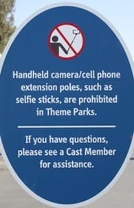 When you visit Disneyland it is wise to know which items are prohibited at the parks.