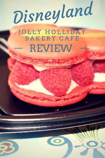 Review of Jolly Holiday Bakery Cafe located in Disneyland.  Includes pictures and reviews of menu items.