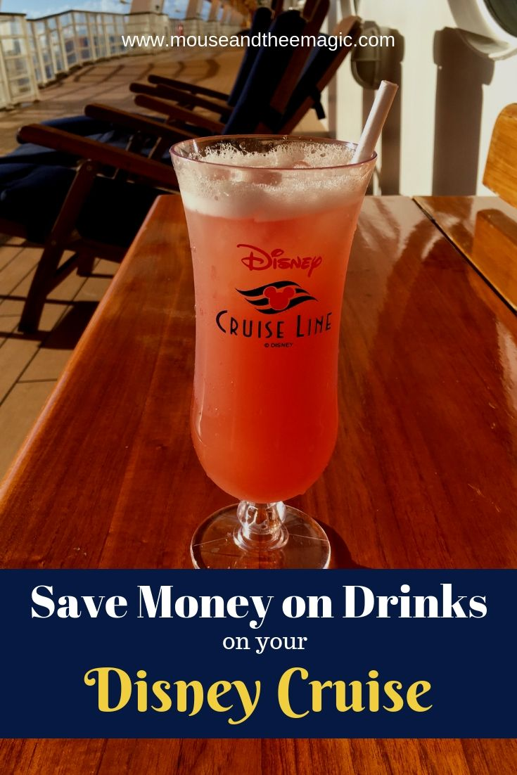 How to Save Money on Drinks on Your Disney Cruise