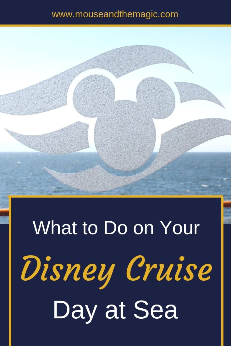 What to do on Your Disney Cruise Day at Sea
